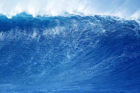 breaking wave: Breaking ocean wave abstract background concept