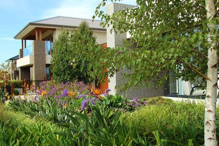 Moderne détails architecture extérieure en Australie