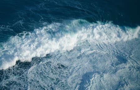 ocean wave: Breaking ocean wave abstract background concept