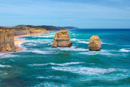 twelve: Twelve Apostles at Great Ocean Road, Australia