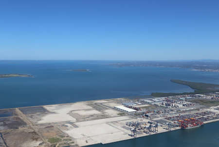 riverine: Port of Brisbane protects local riverine and marine environment Stock Photo