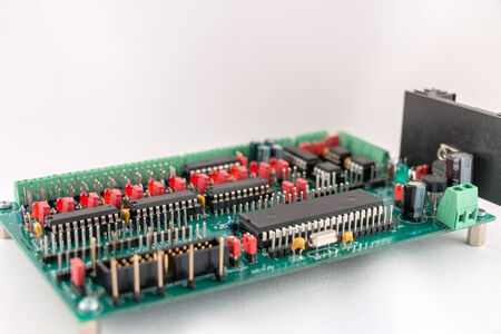 Electronic board photo