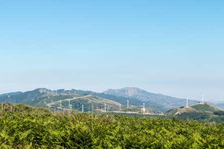 generators: Wind generators in eastern Sicily