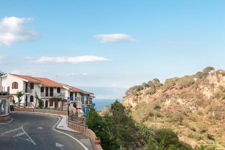 Sicilian city on eastern coast photo
