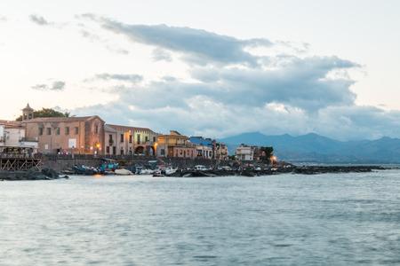 sicilian city on eastern coast