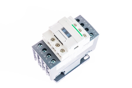 contactor for din rail 100 ampere with protection