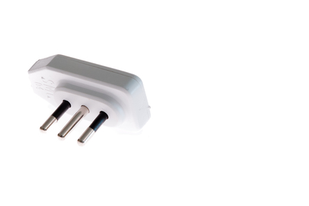 ampere: white Italian plug 16 ampere and adapter