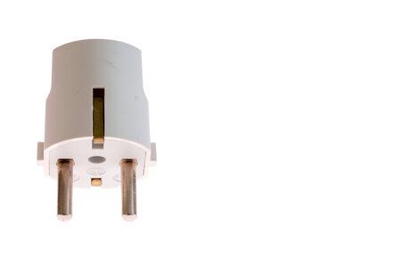 ampere: 16 ampere white schuko plug with center pin