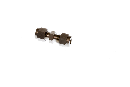 Tube fittings metal made various dimension photo