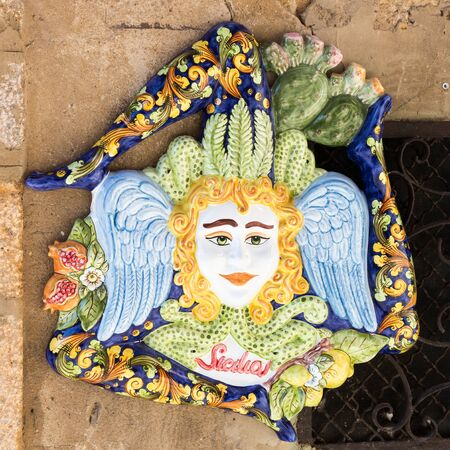 majolica: Famous city of Caltagirone Sicily known for its ceramics