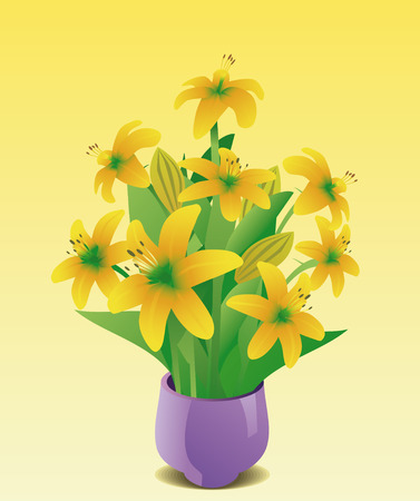 Lily Stock Vector - 5535911