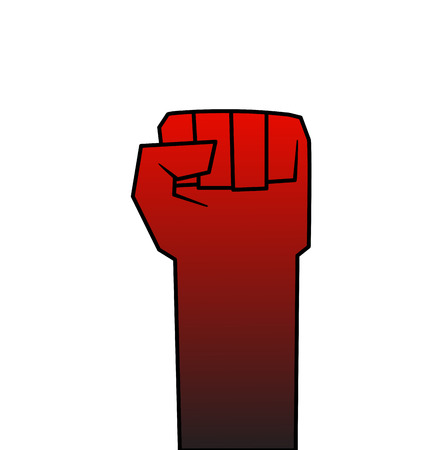 This is an illustration about revolution theme Vector