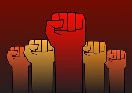 これは革命のテーマについて図
