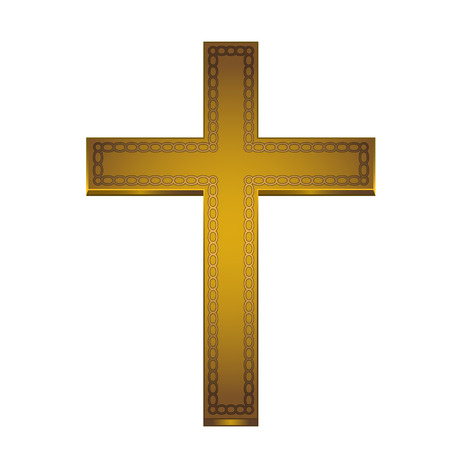 baptist: This is an illustration of a golden cross