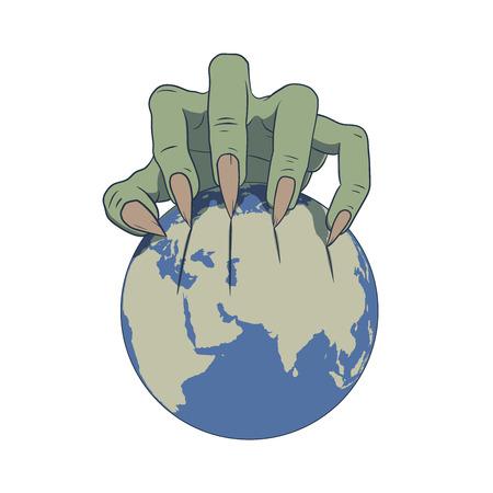oppression: earth in danger Illustration