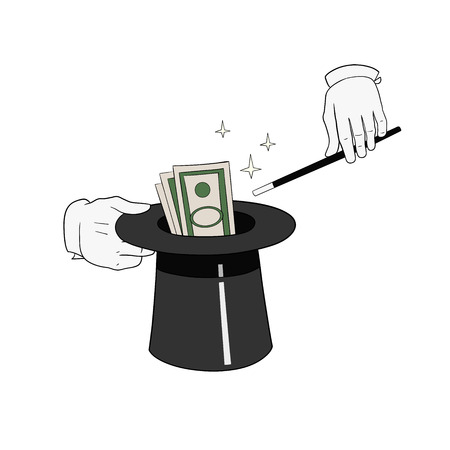 warlock: This is an illustration of money from hat