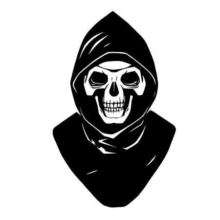 This is an illustration of reaper. EPS 10 Vettoriali
