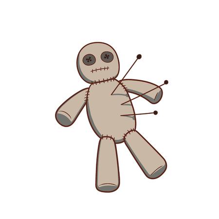 ブードゥー教の人形