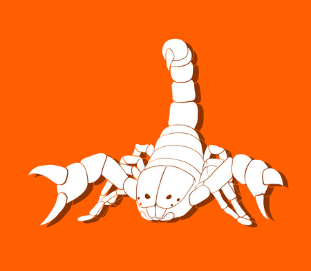 fang: This is an illustration of scorpion