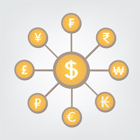 reserve: This is an illustration of reserve currency