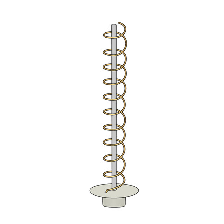 This is an illustration of helical antenna