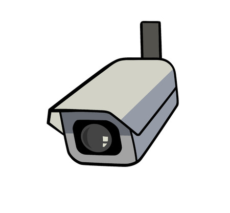 residential zone: This is an illustration of security camera