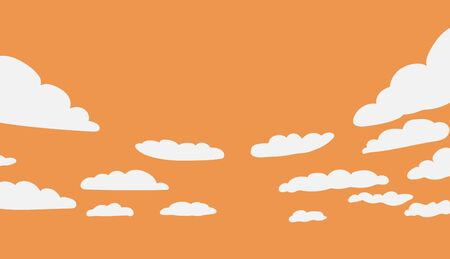 technology banner: This is an illustration of background with clouds