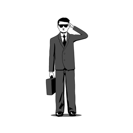 eyeglass: This is an illustration of an agent