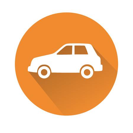 icono computadora: Esta es una ilustraci�n del s�mbolo del coche