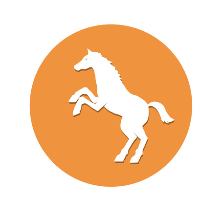 horsehair: This is an illustration of a horse symbol