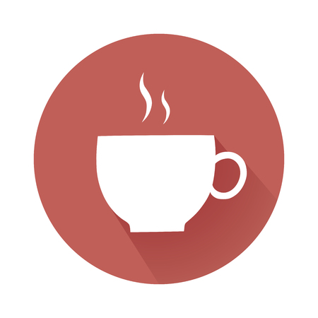 cofee cup: This is an illustration of cofee cup symbol