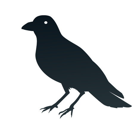 magpie: This is an illustration of a crow symbol