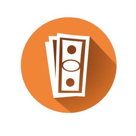 deposit slips: This is an illustration of Money symbol Illustration