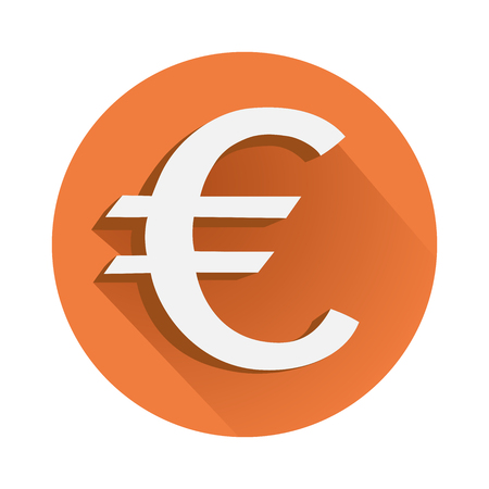 This is an illustration of euro symbol