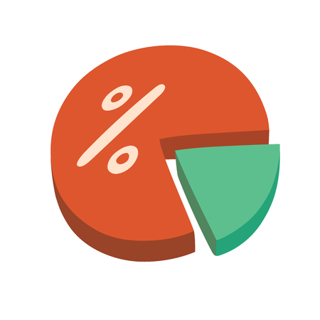 This is an illustration of percentage chart