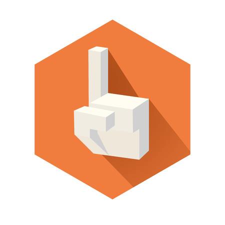 これは手の立方形の図