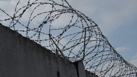 Prison wall background