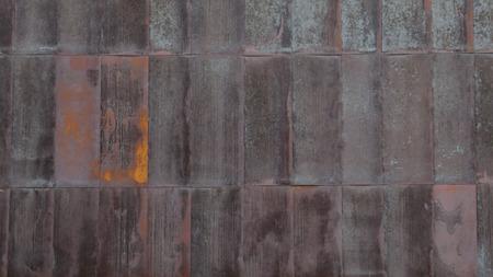 さびた金属を背景 写真素材