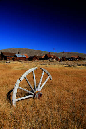 Bodie - abandoned gold-rush city in California, USA