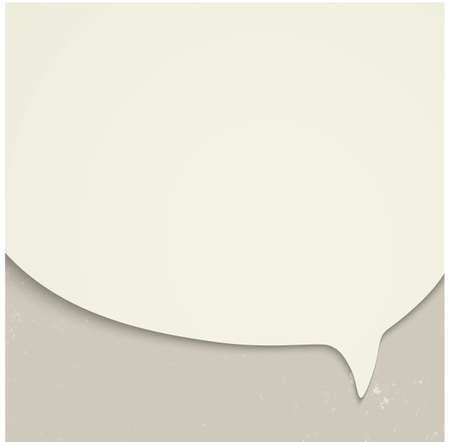 socialize: Speak bubble template Illustration