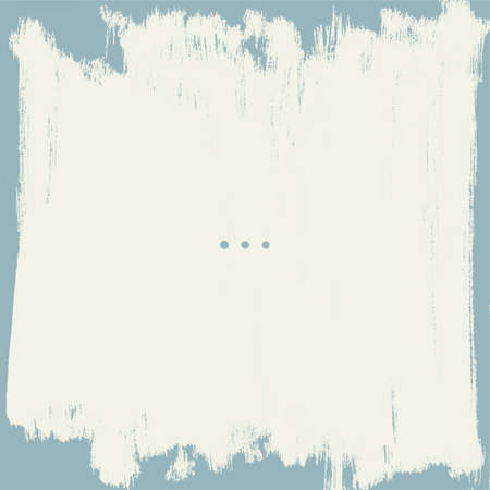 Grunge border. Shabby painted wall. Vector background.
