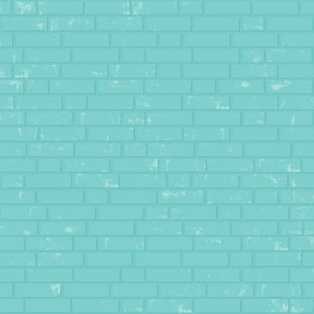 clinker tile: Painted brick wall. Vector background