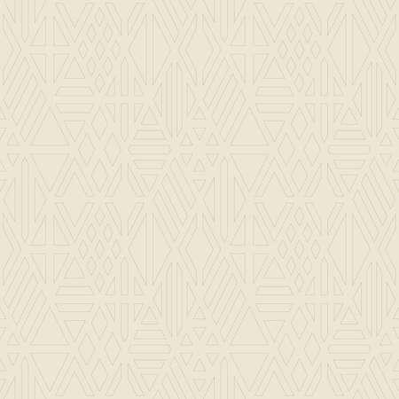 the contour: Rhombus contour seamless pattern. Geometric background. Illustration