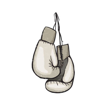 weightlifting gloves: Boxing gloves isolated