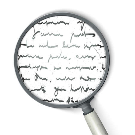 essay: Scribbles into a magnifying glass
