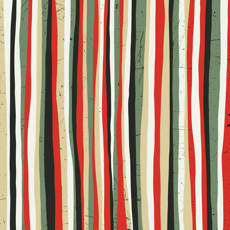 black wood texture: Red stripes. Grunge background