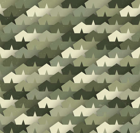 hideout: Camouflage seamless pattern. Illustration