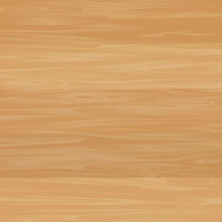 Wood texture template. Vector background with woodgrain texture.