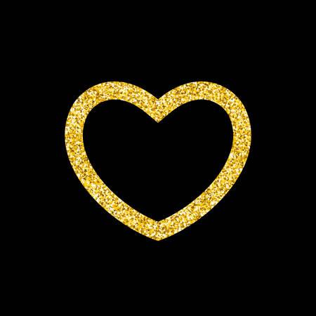 enamored: Golden Heart frame
