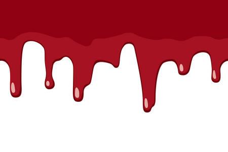 피 흘리기 일러스트